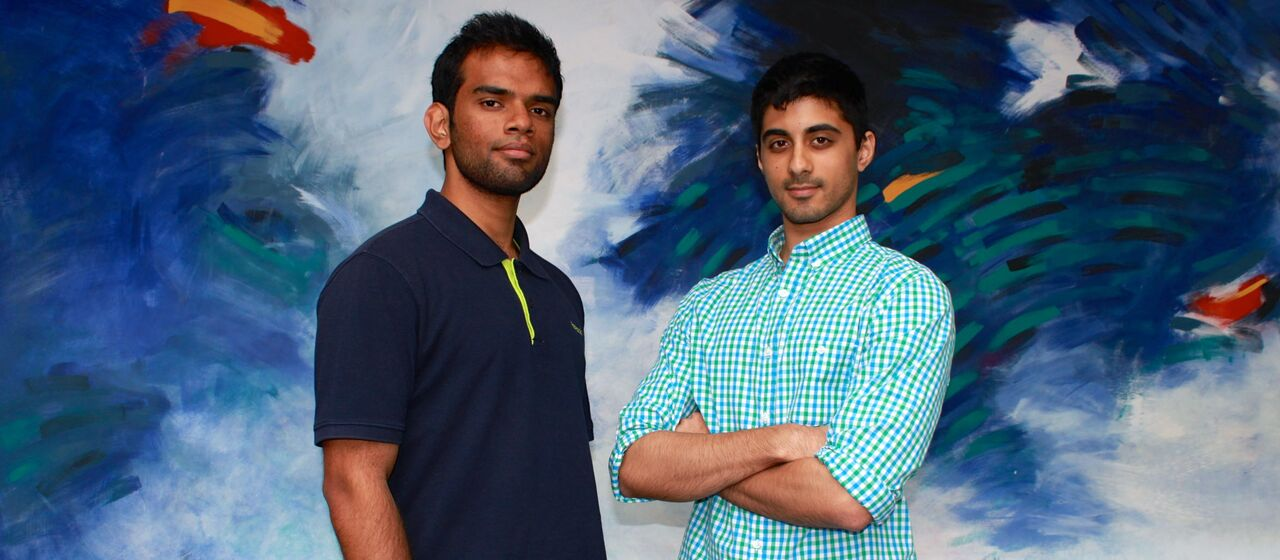 Photo of Perumal Gandhi and Ryan Pandya