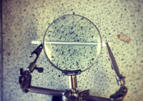 a magnified look at a hollow fibre bioreactor