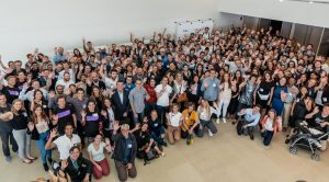 Group Photo from The New Harvest 2019 confernce