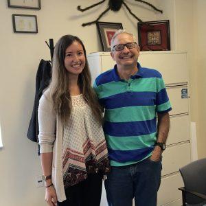Natalie Rubio and Dr. David Kaplan