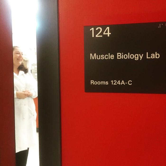 Dr. Paul laboratory technician Dee