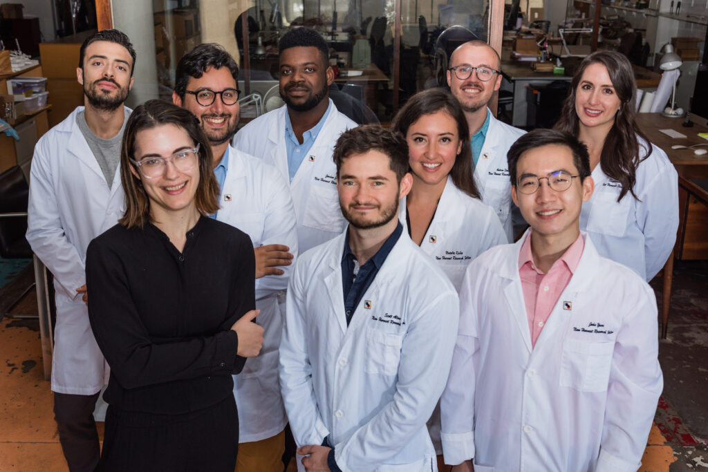 group photo of New Harvest research fellows and research director