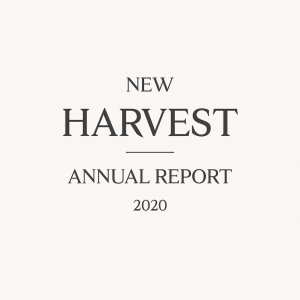 title page of 2020 annual report